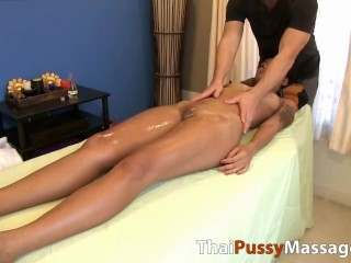 ultimate happy ending with hot asian oil pussy massage