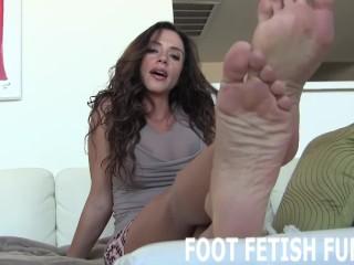 Foot Fetish Femdom And POV Domination Porn