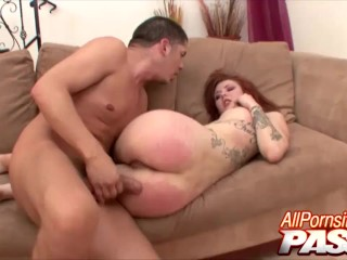 cum in own mouth for sasha pain