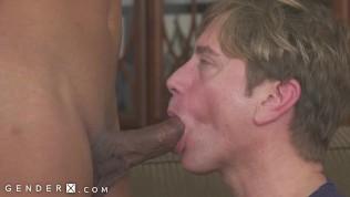 Guy Swallows Mara Nova's Huge Trans Dick