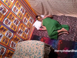 indian aunty horny for her nephew showing hairy pussy to get fucked