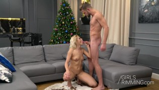 GirlsRimmingCom – Happy Rim day with hot blonde slut Cherry Kiss