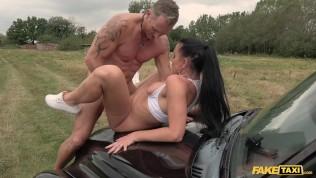 Fake Taxi American Texas Patti in a hot hardcore british taxi porn clip