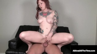Ass Fucked Redhead Misty Dawn Gets Her Puckered Butthole Banged!