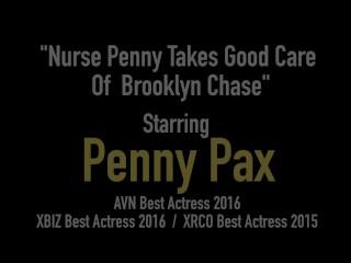 Crazy Modern Medicine! Hot Nurse Penny Pax Fucks Lesbian Brooklyn Chase!