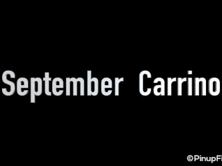 September Carrino will make your pole stand up in this video