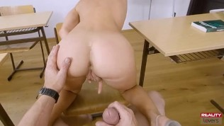 RealityLovers – Naughty Student in POV
