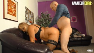 XXX Omas – Hot Mature MILF With Young Man In Bedroom – AmateurEuro