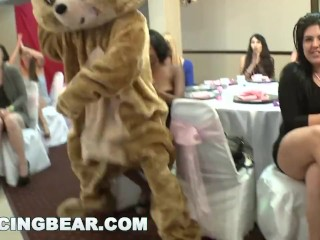 DANCINGBEAR - Big Dick Male Strippers Slinging Cock At Bachelorette Party