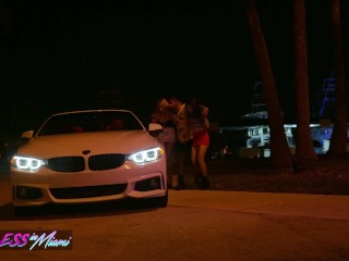 Reckless in Miami - Threeway Party girl's Khloe Kapri, Jane Wilde share