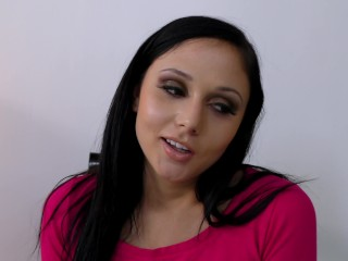 babe jerks load from probation officer huge load gets her out of trouble!