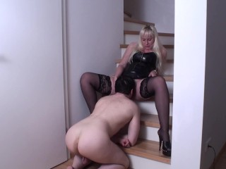 Hot Femdom Ladies Order Guys To Lick Their Pussiesfemdom Ladies Order Guys