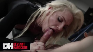 Deviant Hardcore - Busty blonde Dahlia Sky Gets dominated and face fucked