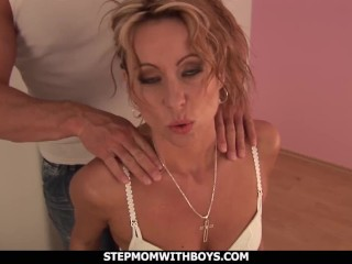 stepmom with boys sexy hot stepmom having sex with own son