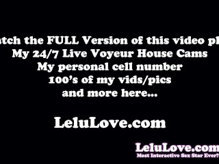 Behind the Scenes PORN VLOG w/ bloopers pussy closeups JOI more - Lelu Love