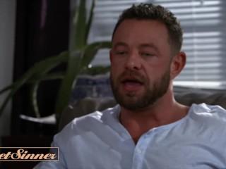 Sweet Sinner - Big tit thicc Sex Therapist Sheena Ryder milks big dick