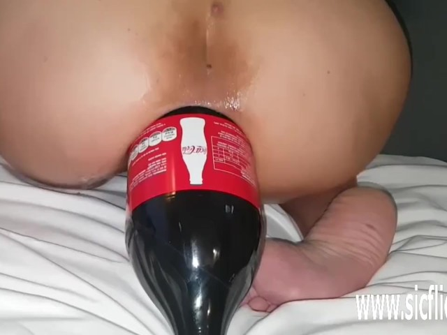 Fucking Her Latin Ass With a Giant Cola Bottle