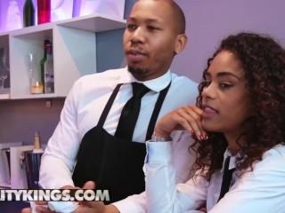 Reality Kings - Trophy wife milf, fucks Fit black couple