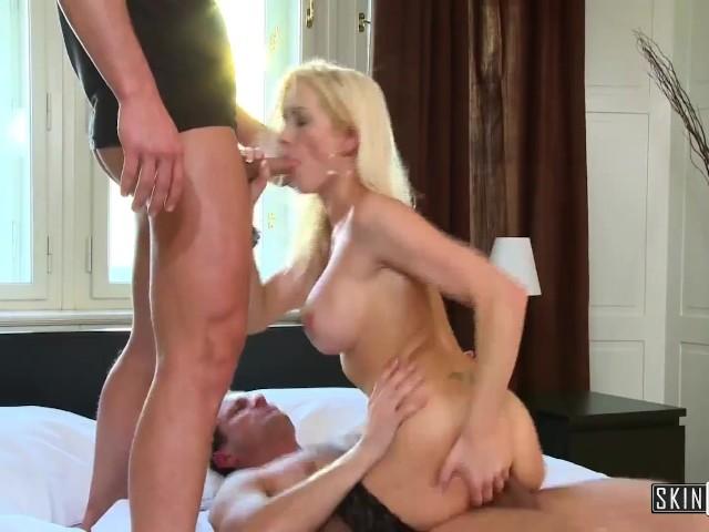 Blonde Milf Big Tits Dp