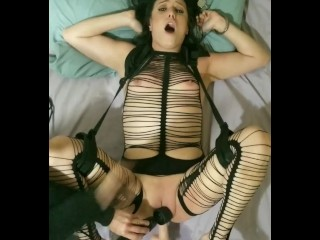 *CAN'T BREATHE!!* Rough Spanking & Squirting Abuse | Machine | BDSM