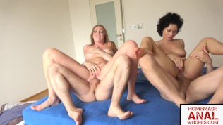 NATURALLY BUSTY CHICKS LIZA BILLBERRY AND STACY BLOOM ARE ANAL SWINGERS