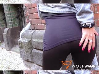 Lesbo LENA & LANA go on naughty blind date! WOLF WAGNER wolfwagner.love