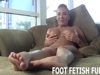 POV Femdom Fetish And Foot Worshiping Training Porn