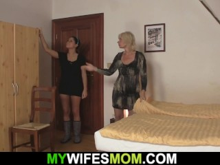 he caught cheating with hot blonde mother in law