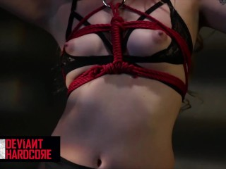 Deviant Hardcore - Sub Lyra Louvel gets dominated and bound
