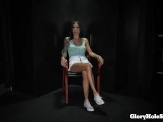 sexy hot girl hot sucking in the gloryhole