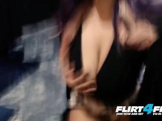 Flirt4Free - Sanaa West - Sexy Ebony with Big Tits and Big Beautiful Ass
