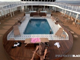Private Black – DP'd Diva Candy Alexa Double Fucked By Captain & 1st Mate!