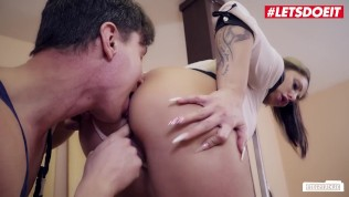 Bums Buero – Handyman Cheats On Girlfriend With Sexy Secretary – LETSDOEIT