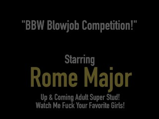 Big Black Bull Rome Major Fucks Phat BBWs Ling Ling & Christina Live!