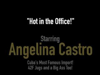 Hot Thick BBW Latina Angelina Castro Fucks Her Creamy Curvy Cuban Cunt!
