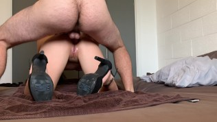 Massive Anal Creampie for Asian GF – WMAF