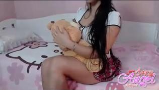 compilation naughty country girl and naughty student shortinho socado