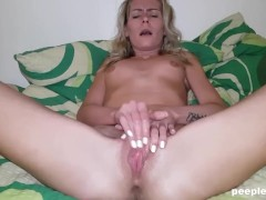 Hot Amateur Rubbing until Total Satisfaction