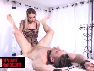 DeviantHardcore – Blistering Kat Dior enjoys fucking anal