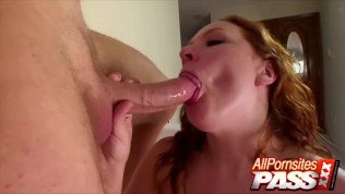 big boobs redhead rebecca lane blowjobs