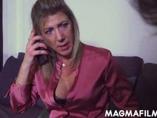 boss pregnant lady demands anal sex from her employees