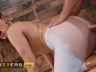 Brazzers - Big butt Ashley Fires loves yoga and anal