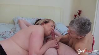 AgedLovE Hardcore Fuck with Huge Boobs
