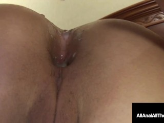 Thicc 20 Yr Mature Brunette Haley Hollister Has Gaping Pile Using Anus A laugh