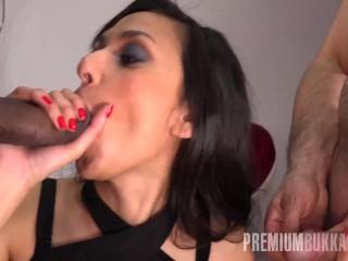 Premium Bukkake - Ashley Ocean swallowing 39 huge mouthful cum loads