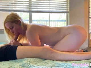 Fucking Roommates Fit Girlfriend While He's Out Of Town (Creampie)