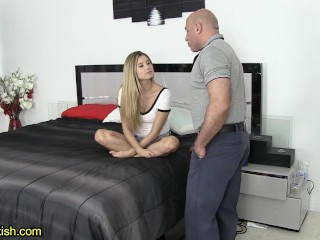 Sweet StepDaughter Wants To Take Care Of StepDad - Carolina Sweets