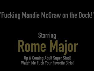BBC Captain Dark Dick Rome Major Fucks Horny Grandma Mandie McGraw!