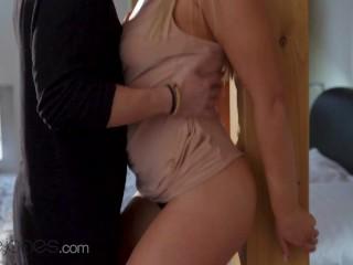 Dane Jones Big naturals blonde Gina Varney passionate sex multiple orgasms