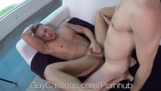 GayCastings Casting Agent Fucks Tight Asshole